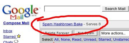 Spam Recipes
