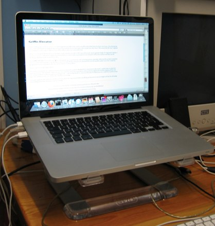 Photo of Griffin Elevator with 15-inch MacBook Pro