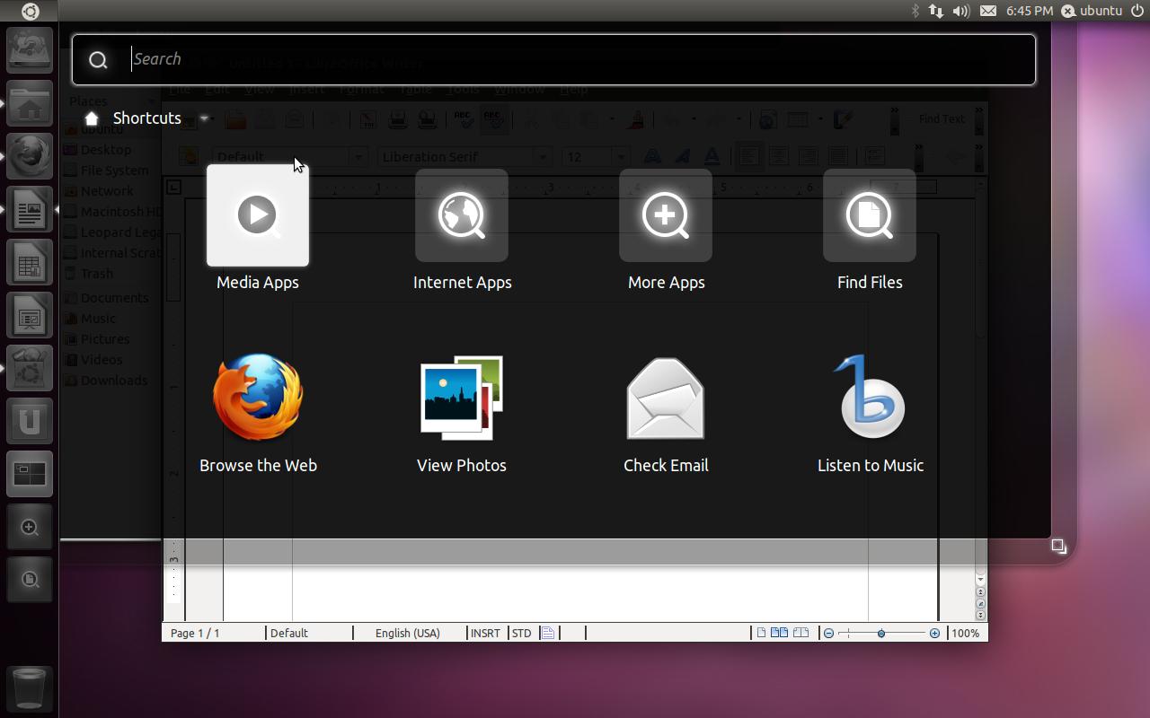 Thoughts on Ubuntu's Unity « Blog « Peter Upfold
