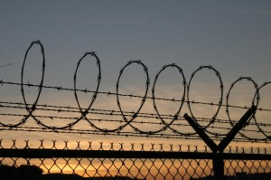 Barbed Wire Twilight, by Orin Zebest